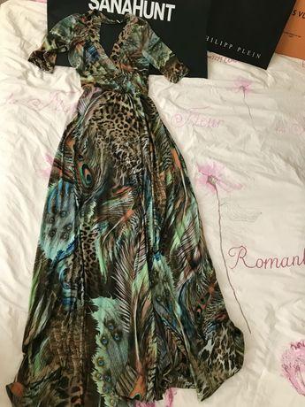 Платье в пол, сарафан