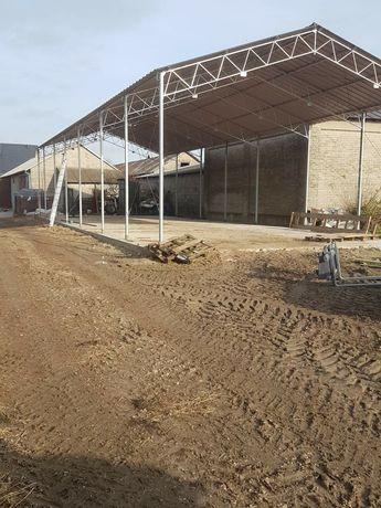 Konstrukcja stalowa ocynkowana 8x23 hala wiata magazyn garaż modułowy