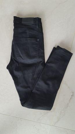 Czarne jeansy dżinsy stradivarius 34 XS