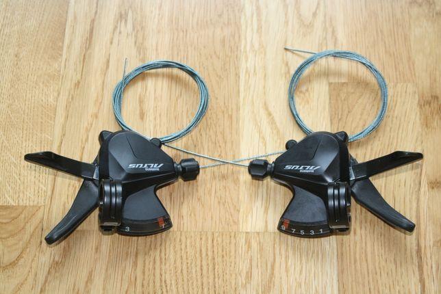 Манетки, переключатели, шифтеры Shimano Altus 3*9 скоростей
