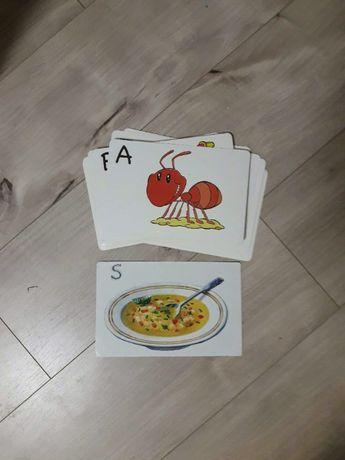 карточки с английским алфавитом