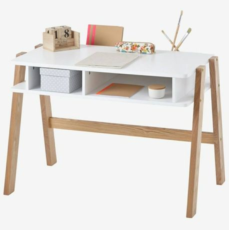 Secretária especial autonomia, Architekt Mini- branco/madeira
