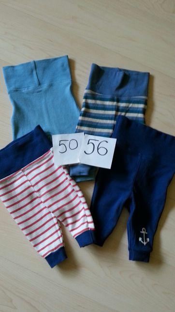 Spodnie spodenki 4szt 10zl rozm 50/56
