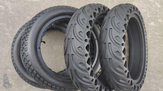 Литые бескамерные колеса покрышки шины 8.5 самокат xiaomi scooter