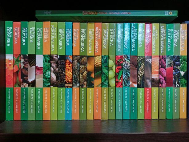 Książki kucharskie zestaw kuchnia z całego świata