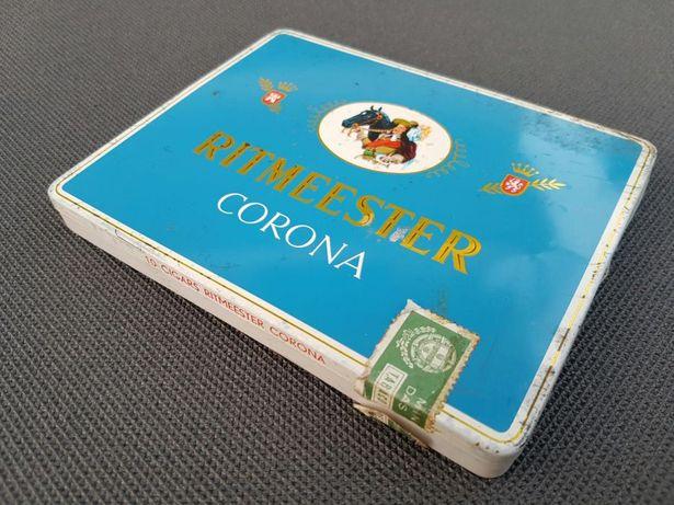 Caixa charutos Ritmeester Corona ideal para coleção