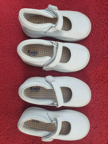 Pantofelki baleriny 2 pary firmy Keds