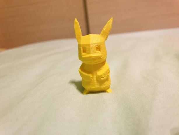 Figurka Pokemon Pikatchu do pokolorowania drukarka 3D