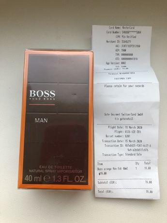 Элитный парфюм Hugo Boss