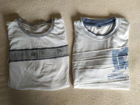 Zestaw 2 białych koszulek, M