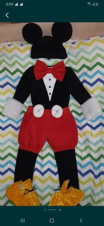 Костюм на утренник мышка Микки Маус / новогодний карнавальный наряд