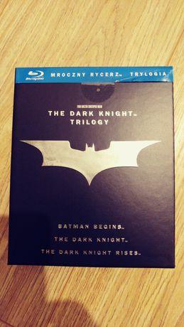 Bluray Dark Knight Trylogia wydanie PL. Digipack. Unikat!!