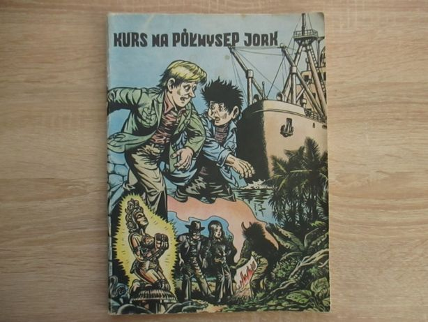 """""""Kurs na półwysep Jork """" Christa ,wysyłka 5 zł In post"""