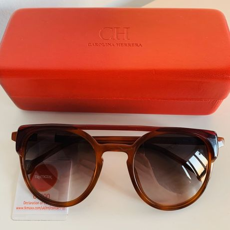 Nowe oryginalne okulary przeciwsloneczne marki Carolina Herrera!