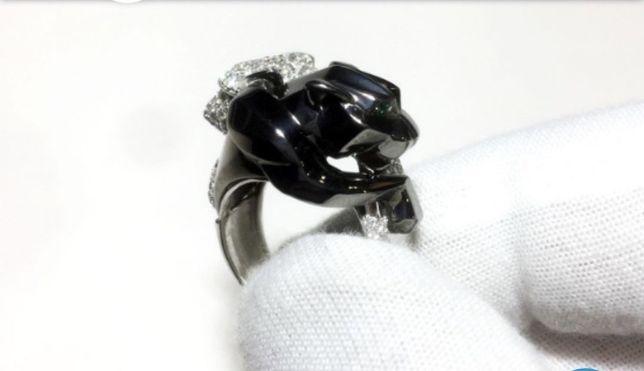 Золотое кольцо с бриллиантами Cartier (  )