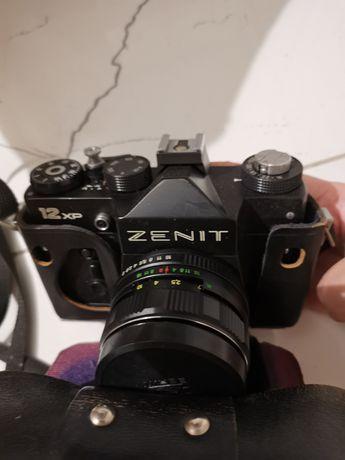 Zestaw aparat fotograficzny Zenit 12xp + nowy Mieszek Makro M42