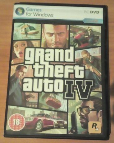 Grand Theft Auto IV PC ANG Stan BDB