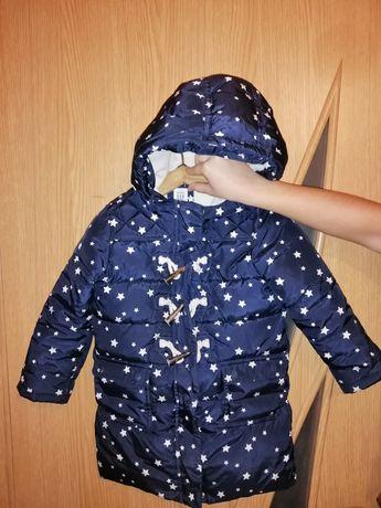 Осень, тёплая зима курточка, удлинённая 105-110