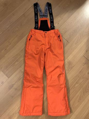 Spodnie narciarskie CMP, zimowe, snowbord,134-140,chłopięce,dziewczęce