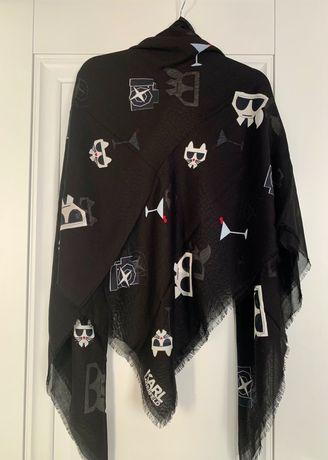 Шарф платок шаль Karl Lagerfield