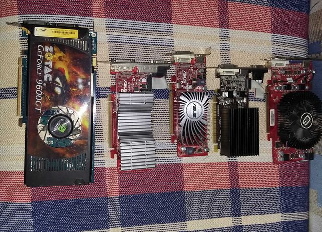Karta Graficzna GeForce GT430 (1GB) | 9600GT (1GB) | GF210 (1GB) HDMI