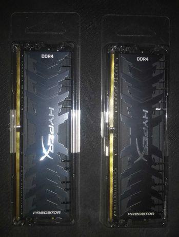32Gb(16+16) DDR4 2666MHz HyperX Predator Kit