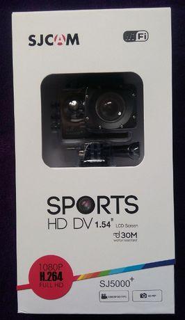 NOWA SJCAM SJ5000+ SJ Cam kamera kamerka sportowa WiFi akcesoria HD
