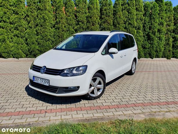 Volkswagen Sharan 2.0tdi 140km 2015r Navi 7 Osobowy Ledy Bixenon