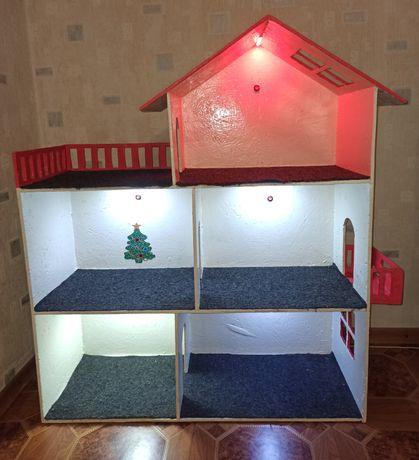 Кукольный дом со светом