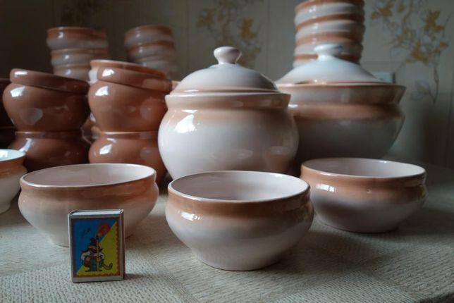Набор посуды керамический суповой или для вареников