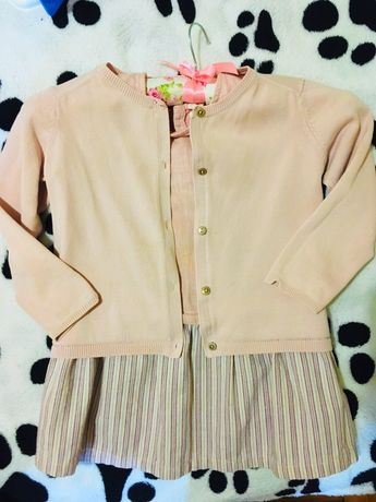 Zara 3/4 платье кофта