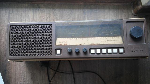 radio z PRL Unitra do naprawy