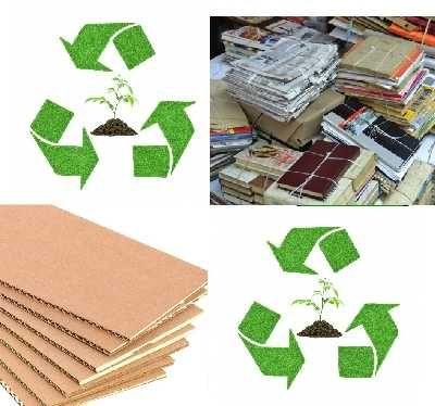 Книги, картон, бумага.