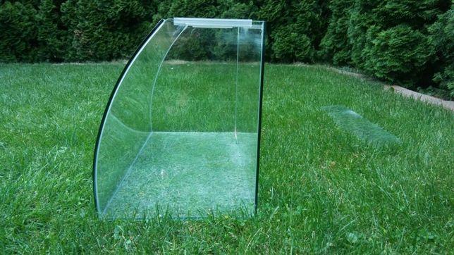 Akwarium ze szklaną pokrywą