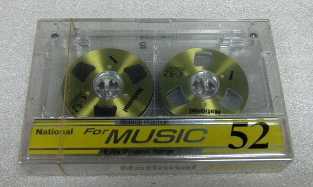 кассета National Music 52 аудиокассета