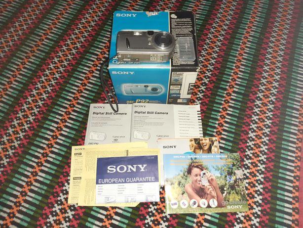 Câmara fotográfica Sony Cyber-Shot avariada