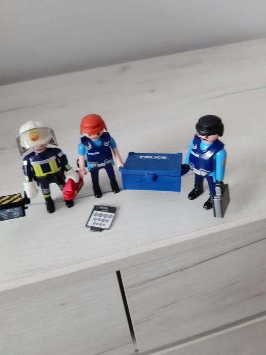 Playmobil. Ludziki policjanci i strażak. Mińsk Mazowiecki - image 1