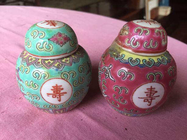 2 mini potes Chineses
