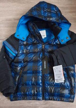 Diesel oryginalna kurtka w rozmiarze 116 cm