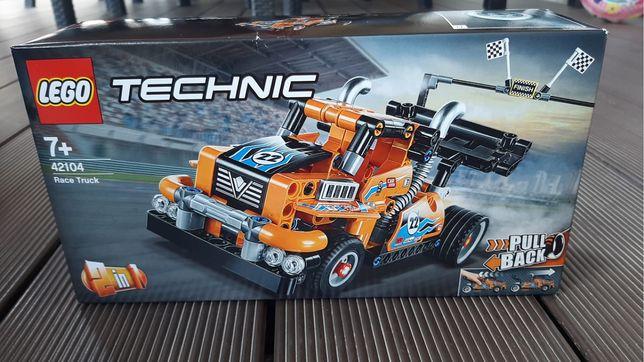 Lego technic race truck 7+