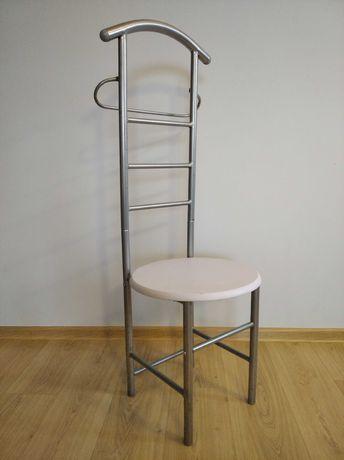 Krzesło wieszak stojak na ubrania garderobę rzeczy