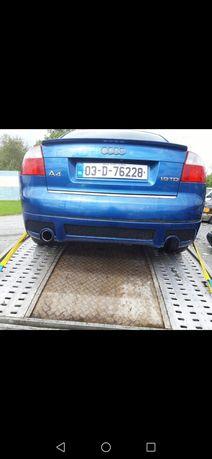 Audi a4 b6 б6 заданий бампер s line
