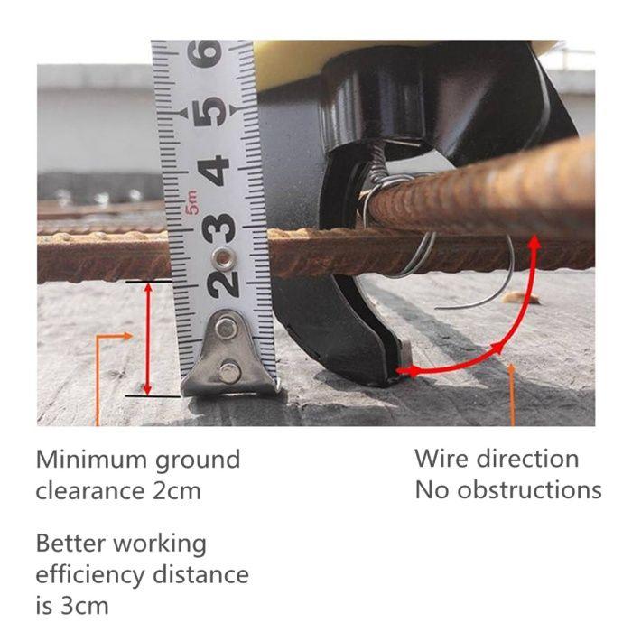 Atadora / Amarradora de Ferro / Arame a Bateria Barrô E Aguada De Baixo - imagem 1