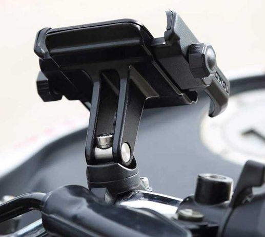 Suporte de telemóvel 360 graus para moto bicicleta trotinete universal