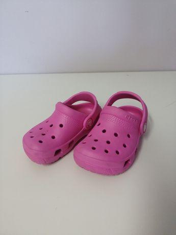 Crocs sandały różowe C7