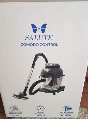 Odkurzacz piorący Salute Comodo Control + Turboszczotka
