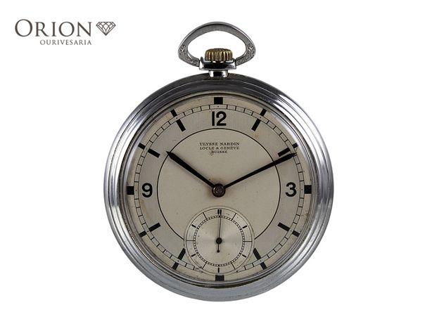 Relógio de bolso antigo Ulysse Nardin