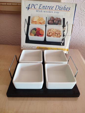 Посуда  набор для орех конфет соусов майонезов Новый