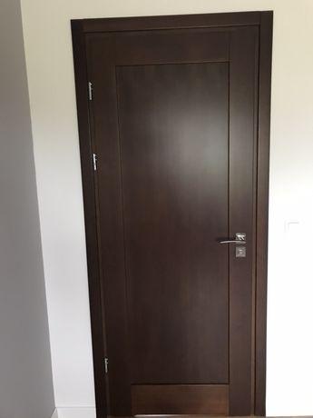 Drzwi 90 drewniane