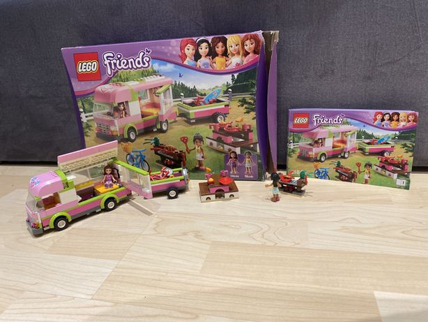 Zestaw Lego Friends - Kamper Olivii
